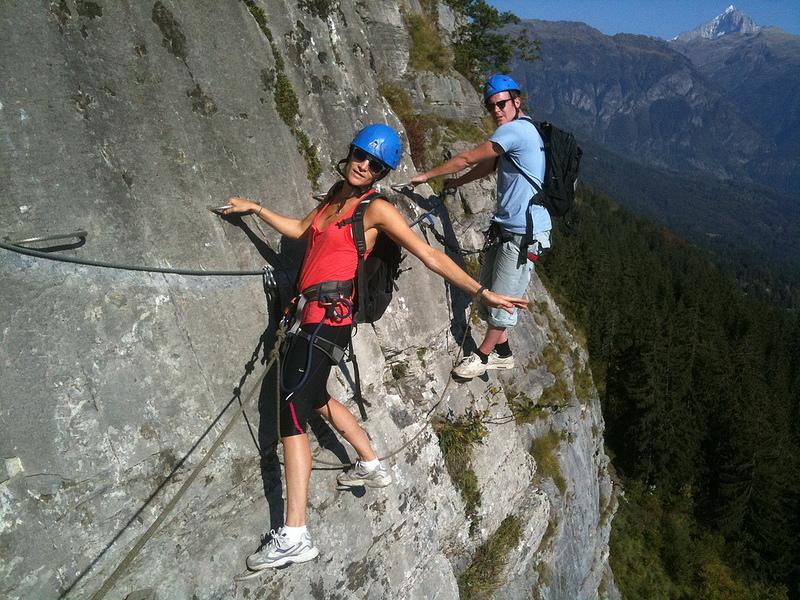 La via ferrata : une alternative intéressante à la randonnée